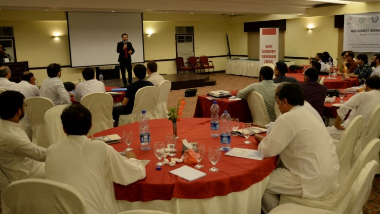 Pakistan: Medical professionals sharpen skills