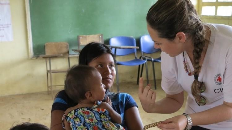 Mulheres são essenciais na ajuda humanitária