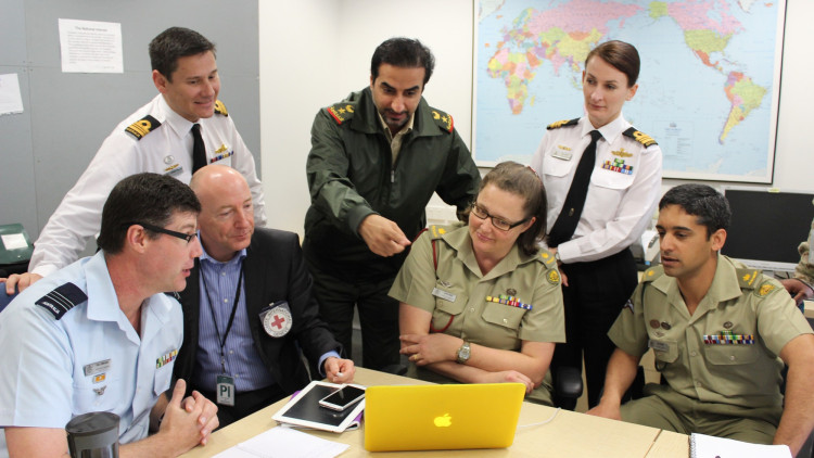 Australia: Working with the military