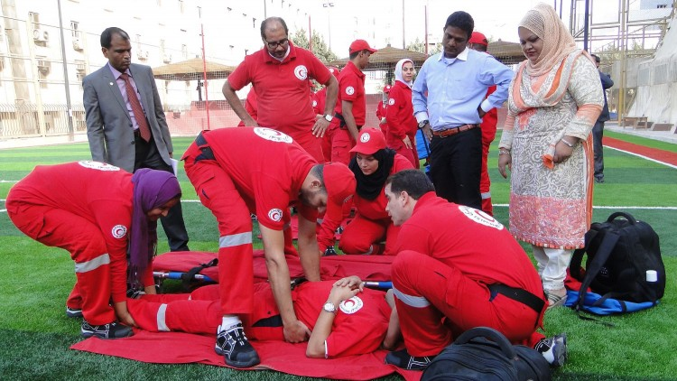 Bangladesh: Red Crescent study visit in Egypt