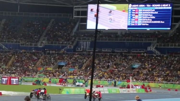 Vainqueurs sans podium : Jeux paralympiques de Rio 2016