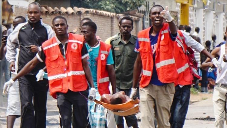 Burundi: primeiros socorros salvam vidas