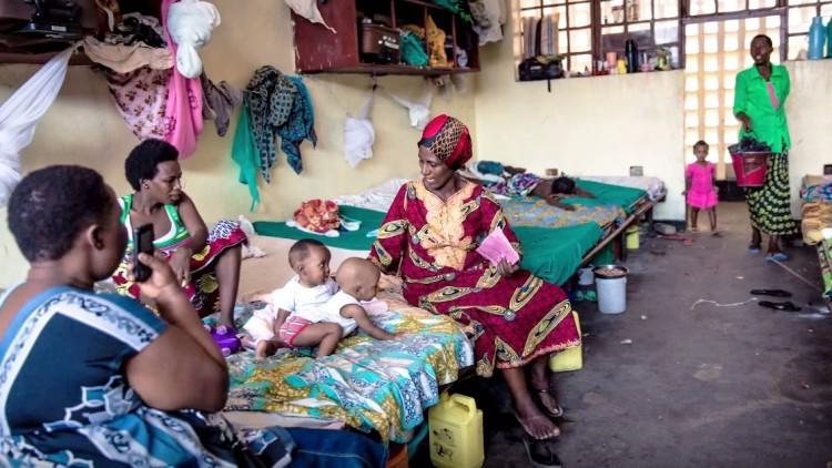 Burundi: visita a una prisión de mujeres