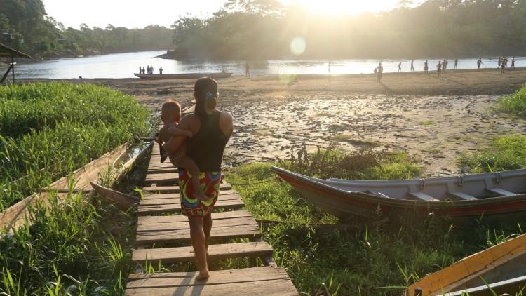 En imágenes: la vida en las selvas del Chocó