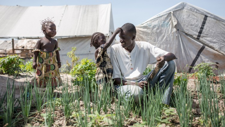 República Centroafricana: la vida en un campamento para personas desplazadas