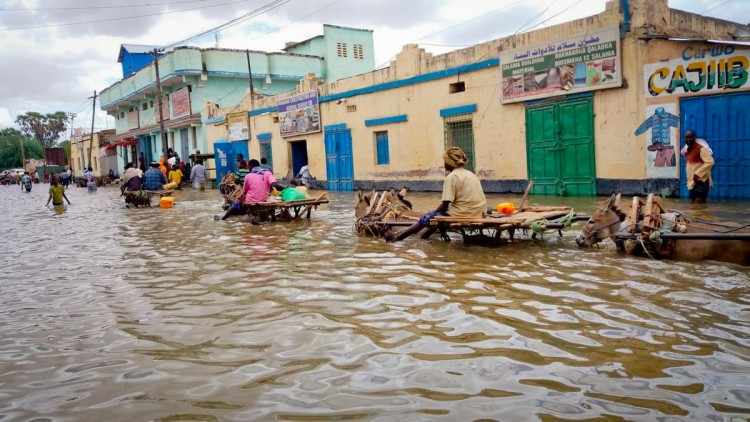 Somalia: tras las inundaciones, 30.000 personas necesitan alimentos y agua potable