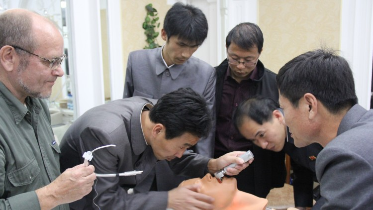 Discussing Emergency Room Trauma Management in Pyongyang