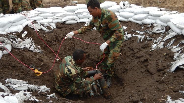 Ethiopia: Saving lives through explosive ordnance disposal practice
