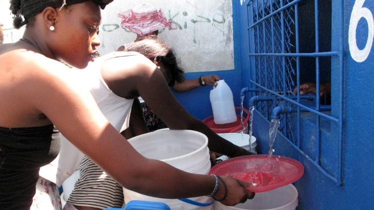 Haiti: water for Cité Soleil
