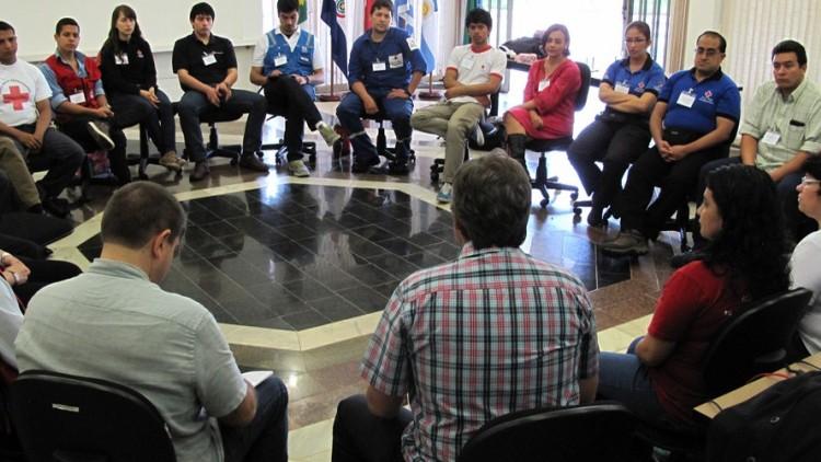 CICV promove intercâmbio de experiências em primeiros socorros em situações de violência na América Latina