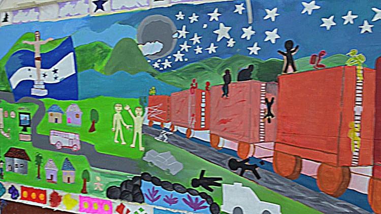 Honduras: Families of migrants heal trauma through art