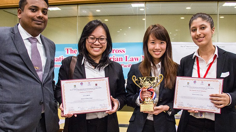 Asia: IHL moot court through the eyes of coaches