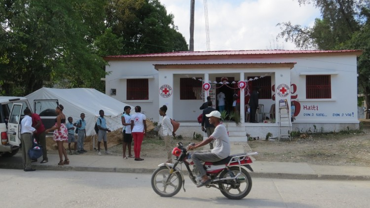 Fortalecimiento de la Cruz Roja de Haití en la frontera con República Dominicana