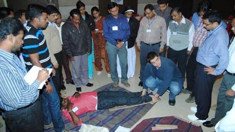 India: primeros auxilios para salvar vidas