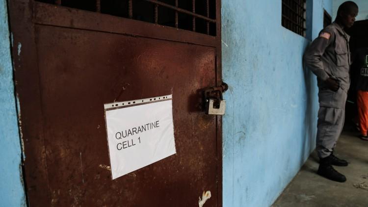 Liberia: mantener el Ébola fuera de las cárceles