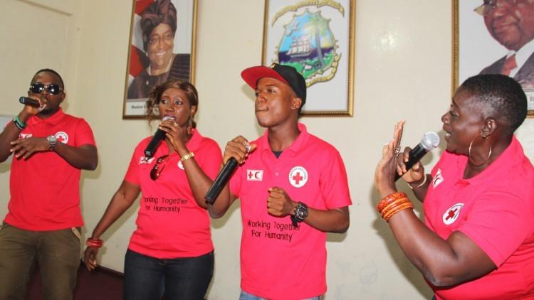 Liberia: Cruz Roja lanza una canción en solidaridad con los supervivientes del ébola