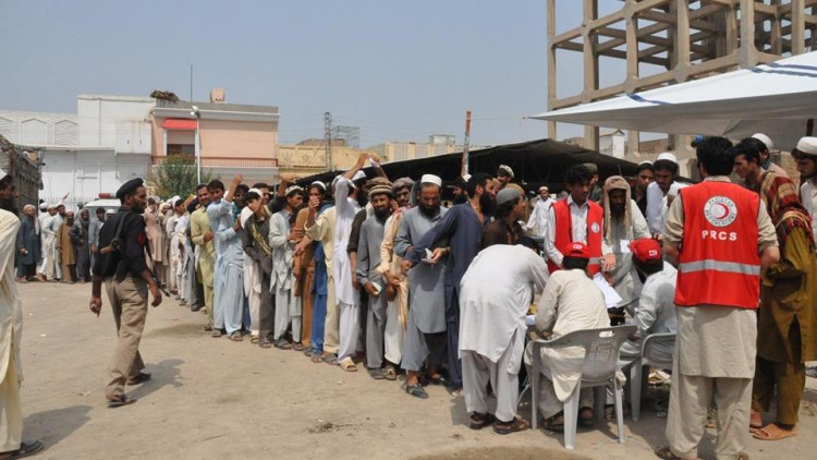Pakistan: Red Crescent doubles assistance to the displaced from North Waziristan