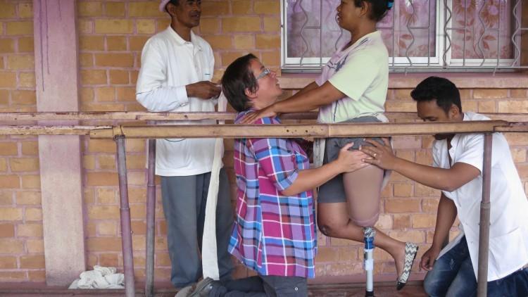 Madagascar: pierna nueva, vida nueva