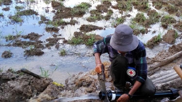 O CICV em Myanmar: fatos e números de janeiro a maio de 2016