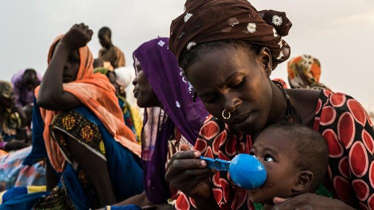 Les personnes qui fuient le conflit dans le nord-est du Nigéria souffrent d'une grave pénurie alimentaire