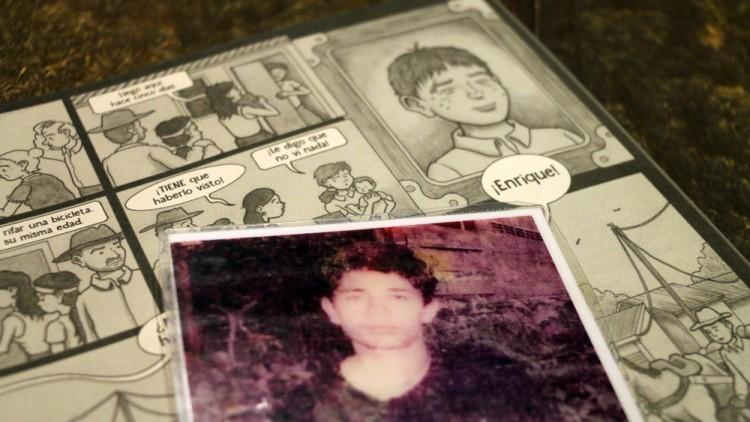 Comic sobre desaparición llega a manos de los protagonistas de la historia