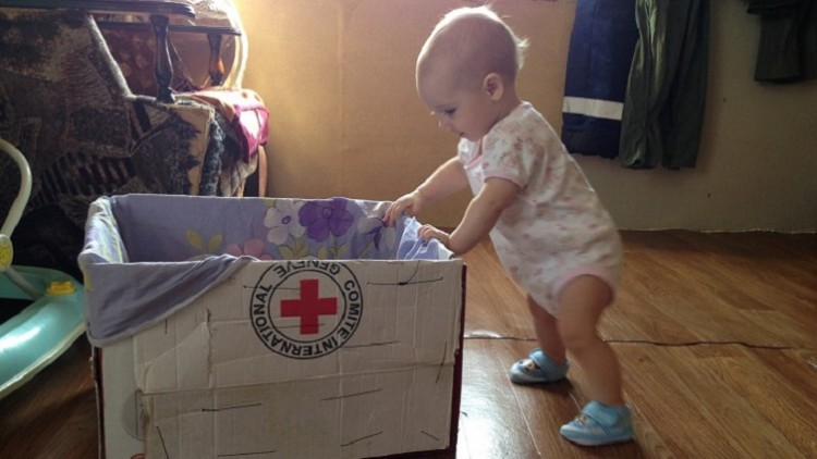 Rússia: CICV ajuda famílias ucranianas