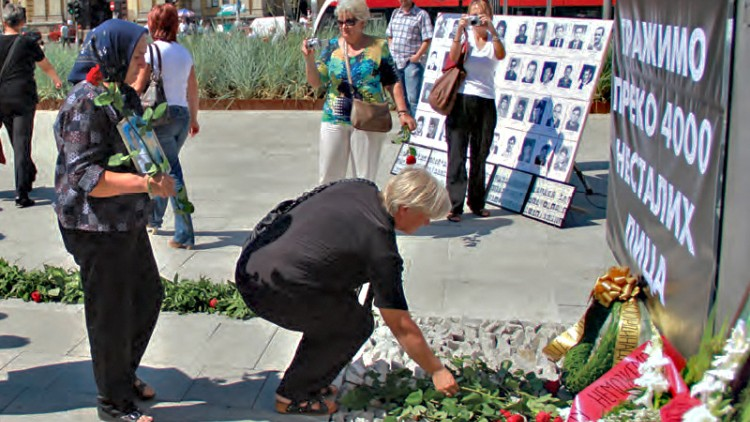 Western Balkans: Authorities must support families of missing persons