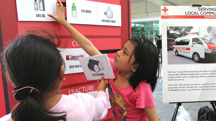 Singapore: The Red Cross, my second love