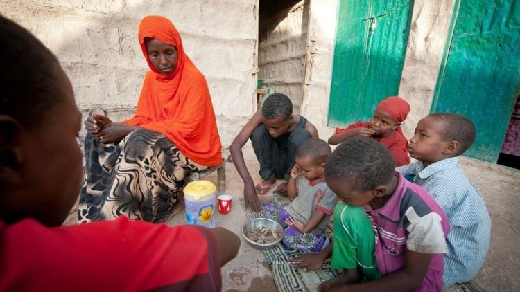 Somalia: cientos de miles de personas recibieron alimentos en 2016