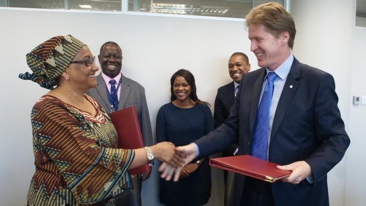 Afrique du Sud : le CICR et la SADC signent un protocole d'accord