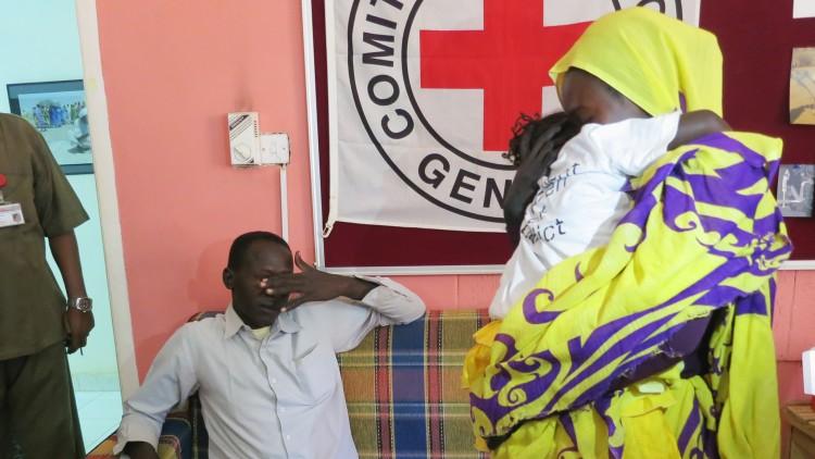 Soudan du Sud / Soudan : Leila, 5 ans, retrouve sa famille