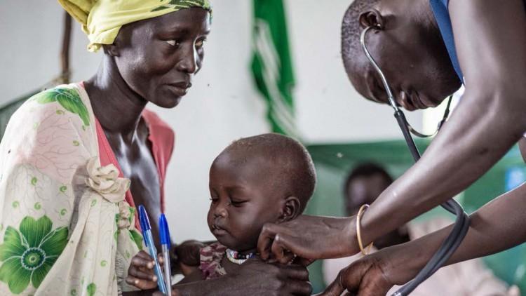 Asistencia de salud en Sudán del Sur: contra viento y marea