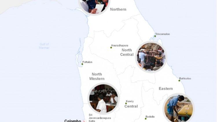 Sri Lanka: 25 años de acción humanitaria