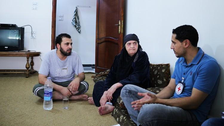 Le CICR continue d'aider les Syriens à la frontière nord-est du pays
