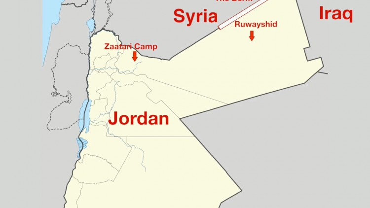Jordan: People stranded at the berm desperately need help