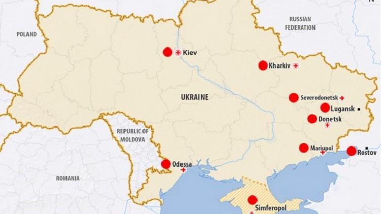 Crisis en Ucrania: qué está haciendo el CICR