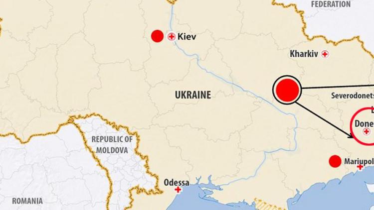 Ucrânia: CICV expande acesso na região de Donetsk
