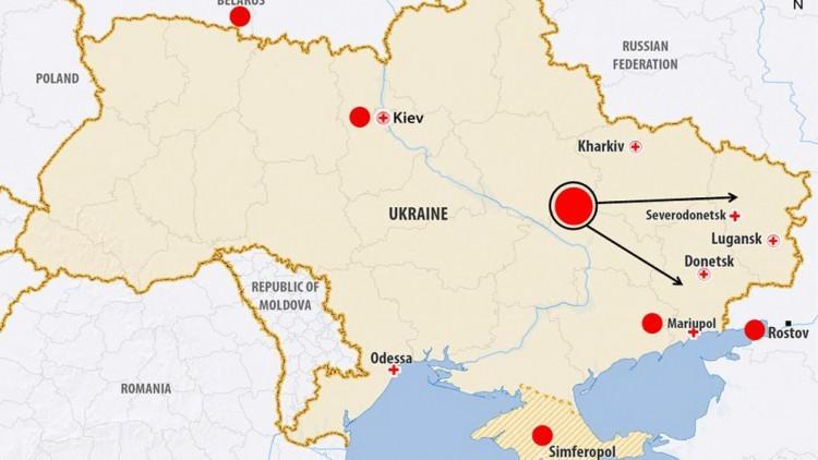 Crise na Ucrânia: O que o CICV tem feito – atividades em janeiro e fevereiro de 2015