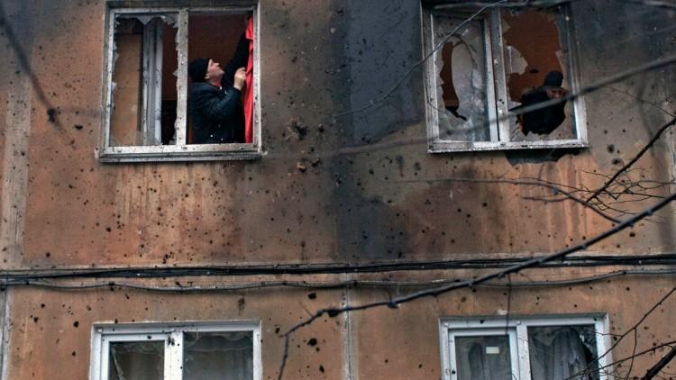أوكرانيا: سكان دونيتسك يكافحون من أجل البقاء