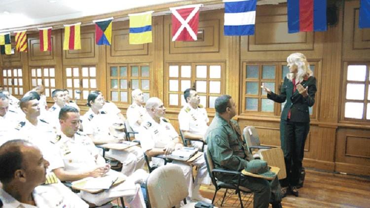 """El CICR impartió una formación sobre """"DIH y Estándares Internacionales sobre el Uso de la Fuerza"""" para la Armada venezolana"""