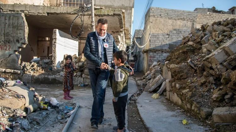 伊拉克:红十字国际委员会主席表示,巨大挑战仍使伊拉克民众无法返回家园
