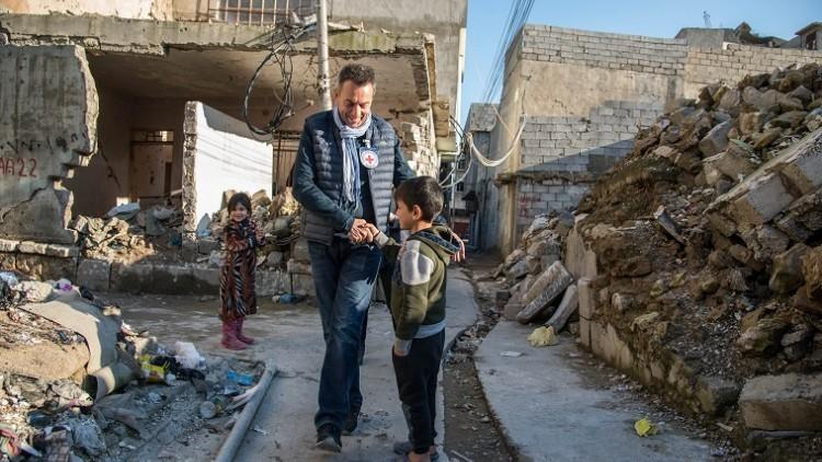 Laut IKRK-Präsident verhindern enorme Herausforderungen die Rückkehr vieler Iraker in ihre Heimat