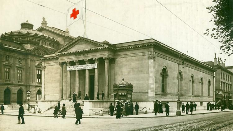 1914-1918年的战争:国际战俘局