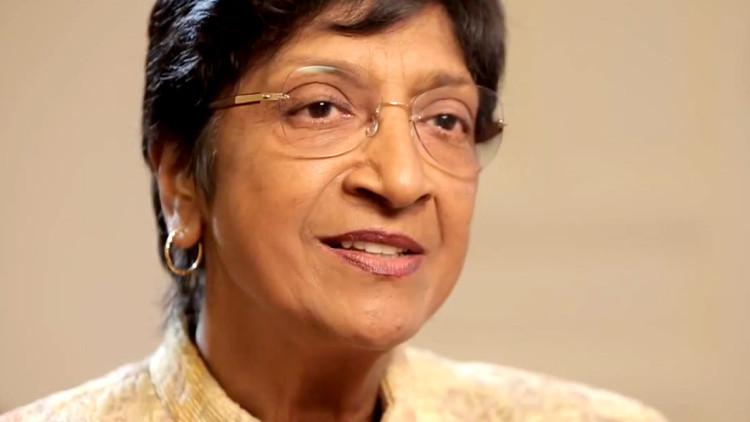 Navi Pillay fala sobre a violência sexual e reparações