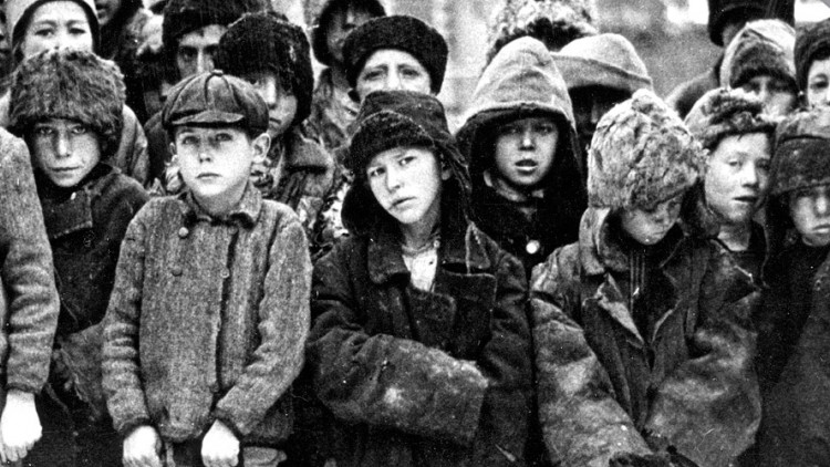 150 ans d'action humanitaire : les enfants dans la guerre