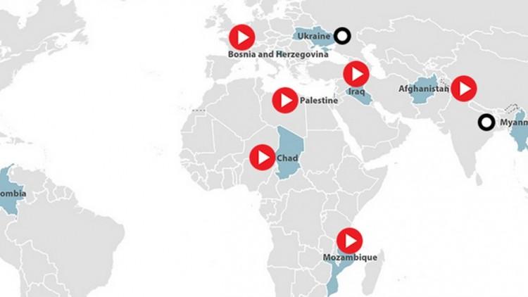 Explosivos de guerra não detonados: uma presença maligna no mundo