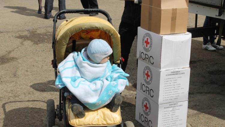 РФ: МККК расширяет помощь переселенцам с востока Украины
