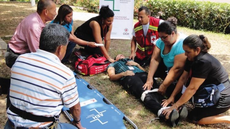 Proyecto Abriendo Espacios Humanitarios (AEH) en Honduras y México