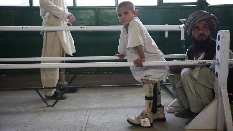 Afghanistan: Getting people with disabilities back on their feet