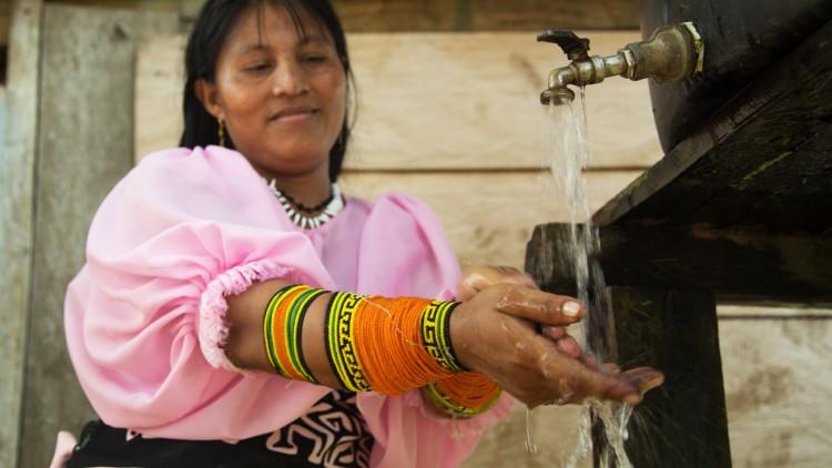 Panamá: agua de chuva, água segura